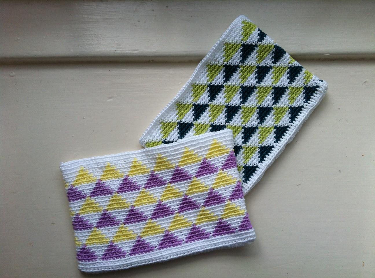 Geometric pattern a crochet journey 1 dt1010fo