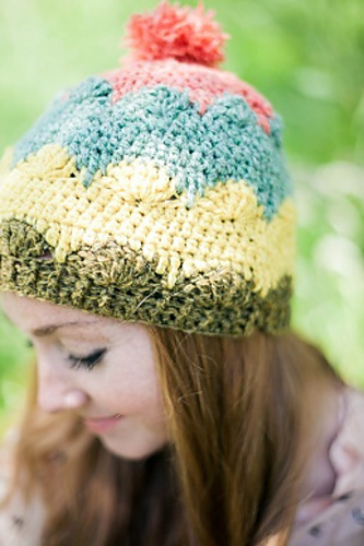 Molly Hat by Claire Montgomerie
