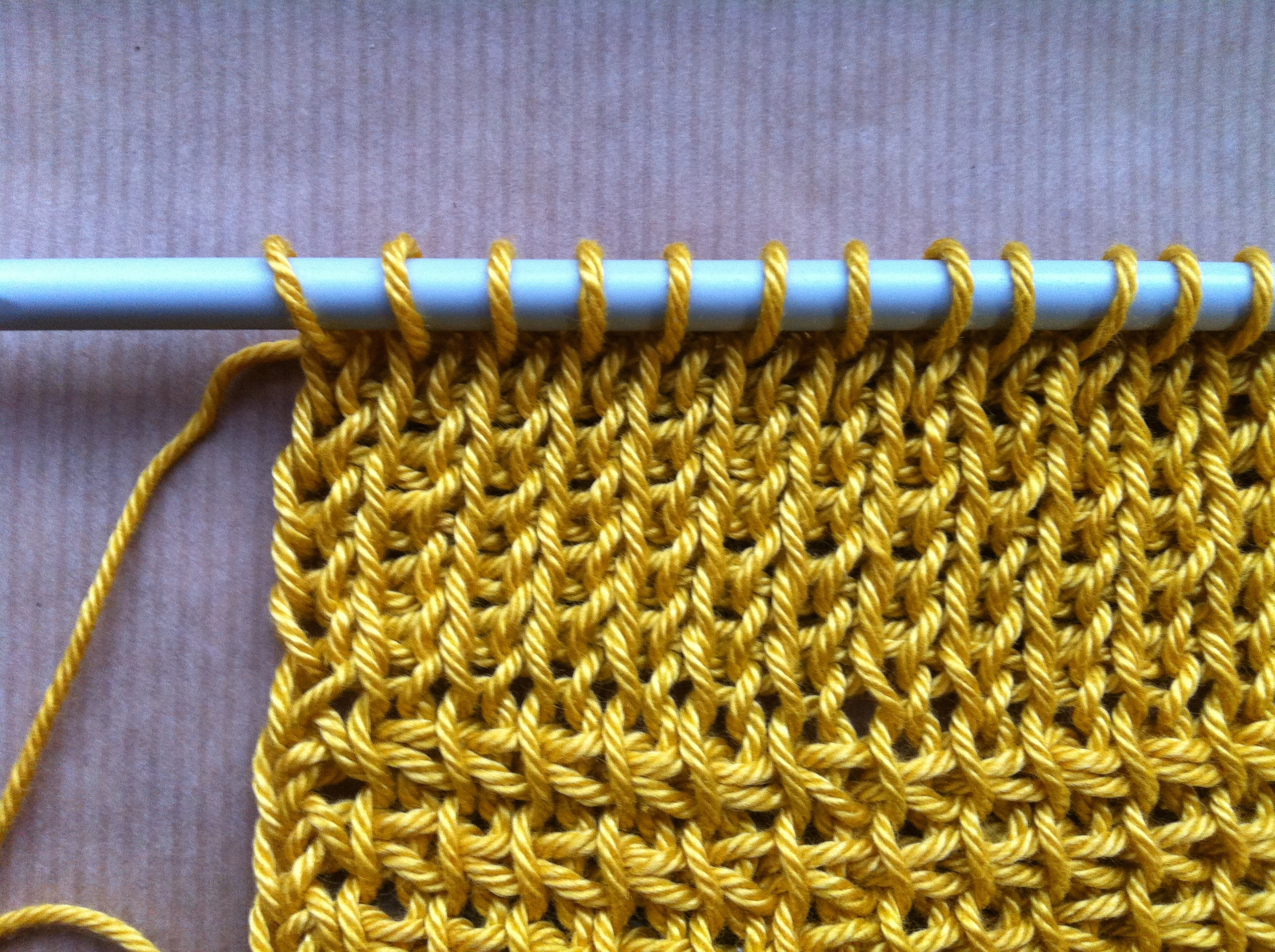 Тунисское вязание как это 13