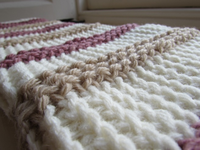 Tunisian Crochet 101: Reverse Simple Stitch a crochet journey
